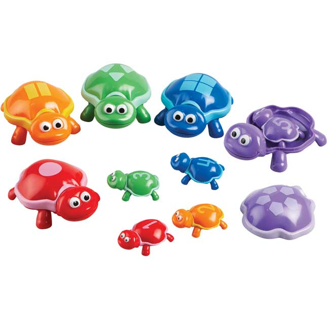 Snap-n-Learn™ Number Turtles