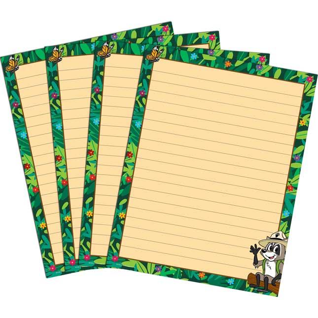 Ranger Rick Lined Chart Pack
