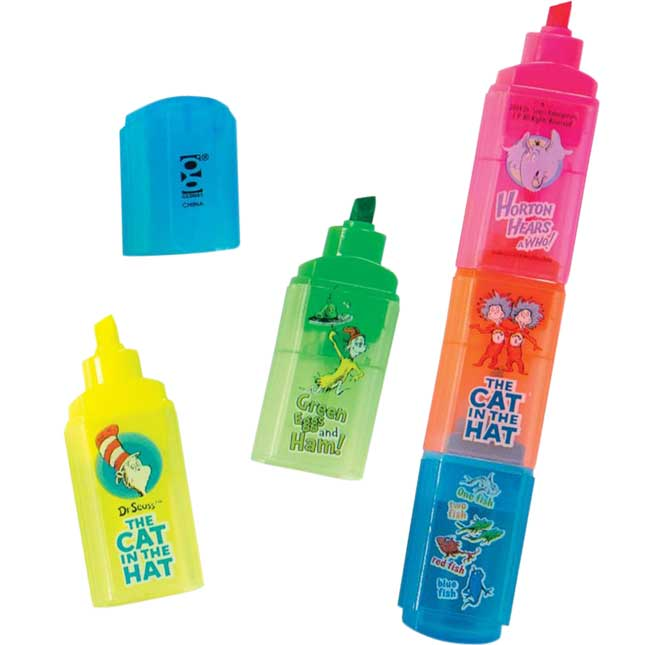 Dr. Seuss Scented Stackable Highlighters