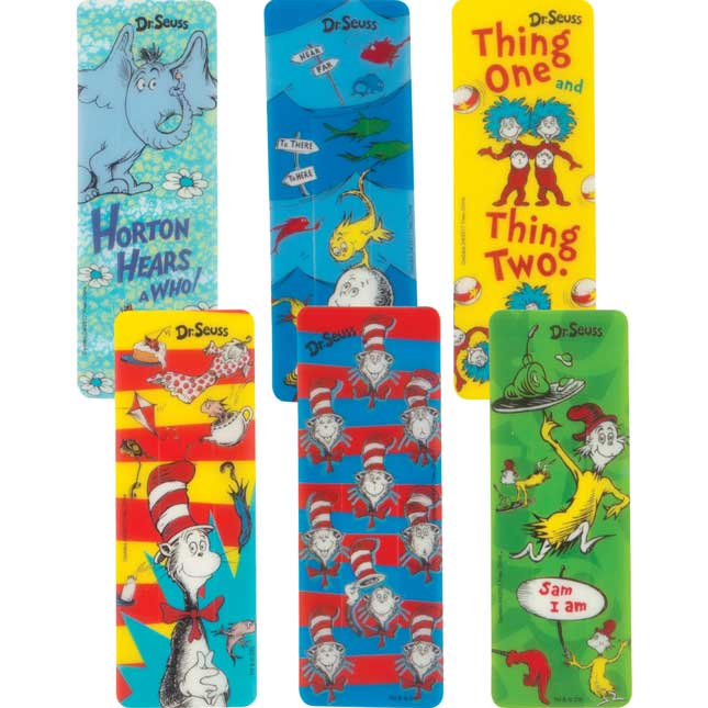 Dr. Seuss Page Markers