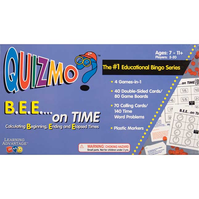 Quizmo BEE on Time