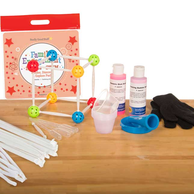 Family Engagement Science/STEM - Wonder, Discover and Explore Pack: Bubblology - First Grade
