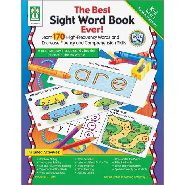The Best Sight Word Book Ever! Book