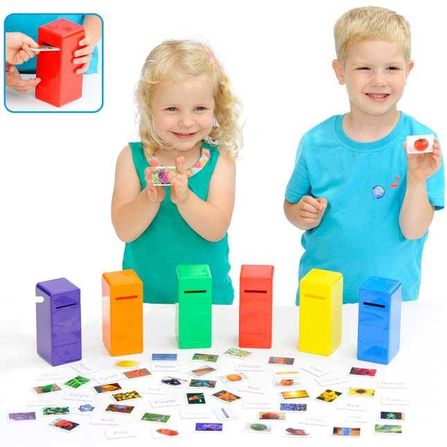 Color Posting Game