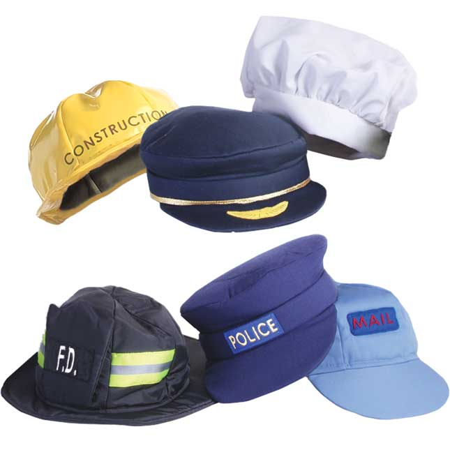 Our Community Helper Hats - Set Of 6