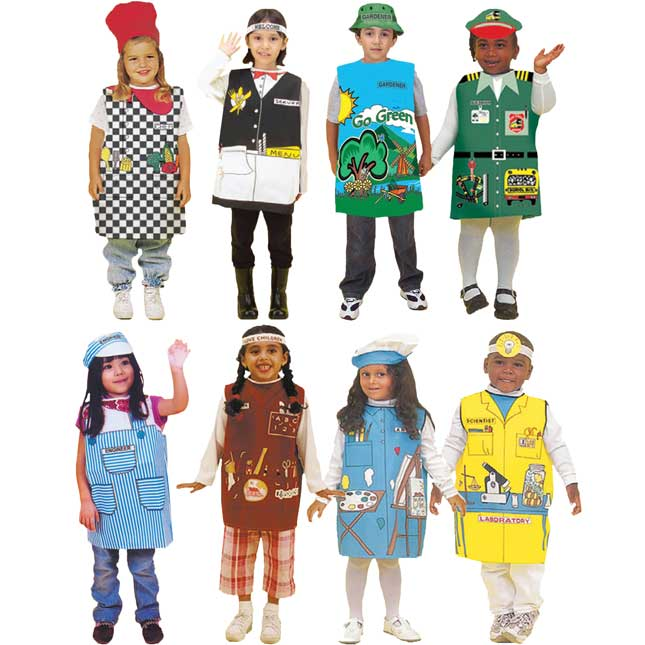 Career Dressups Collection - Community Helpers