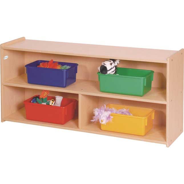 Two-Shelf Storage - Toddler Size