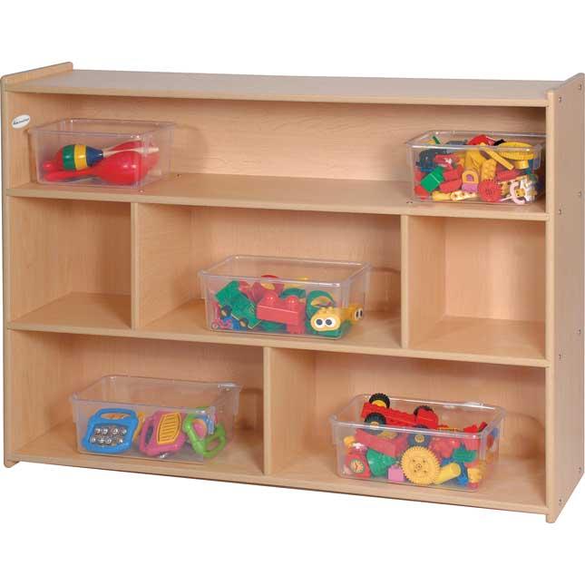 "35"" School- Aged Divided Storage"