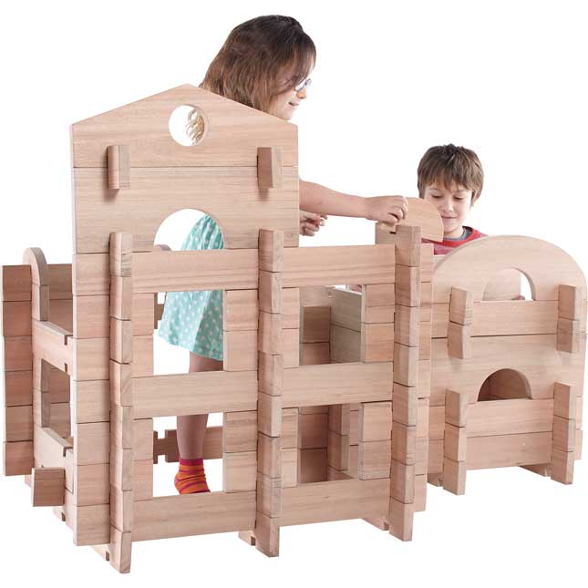 Notch Blocks - 89-Pc. Set
