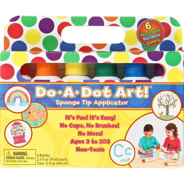 Do-A-Dot Art! 6-Pack Rainbow Markers
