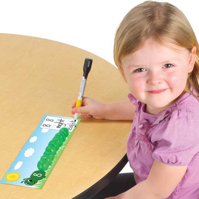 Little Hands-On™ Numbers And Dough Caterpillars Kit