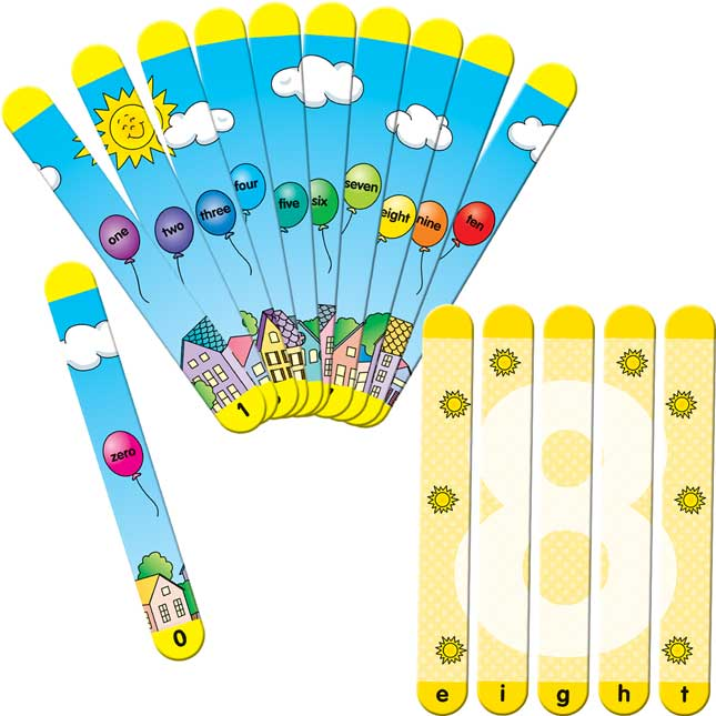 Picture Sticks™ - Counting To Ten