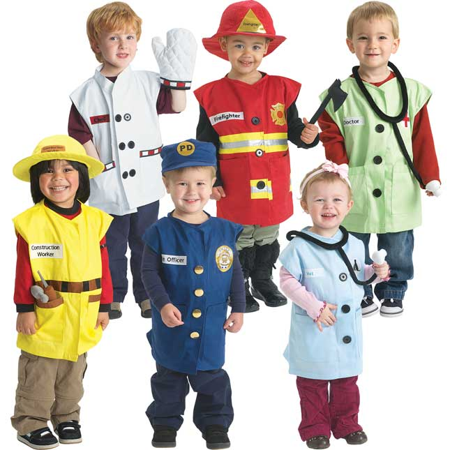 Excellerations® Career Toddler Costumes - Set Of 6